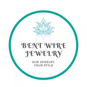 circle logo bent wire
