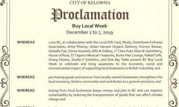 Buy Local Week Proclamation