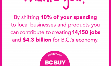 Local Businesses Celebrate BC Buy Local Week
